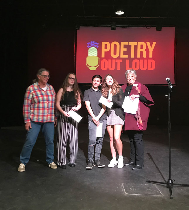 Calaveras Poetry Out Loud Winners