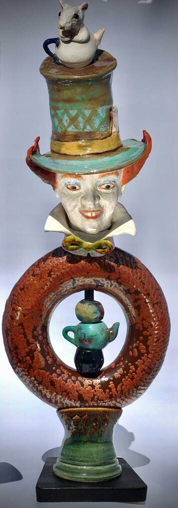 Sculpture of Mad Hatter
